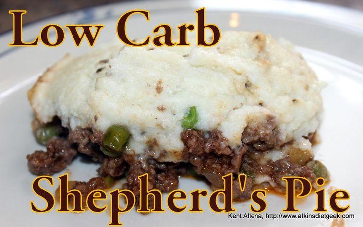 Atkins Diet Recipes: Low Carb Shepherd's Pie (IF) « Atkins Diet Geek Blog