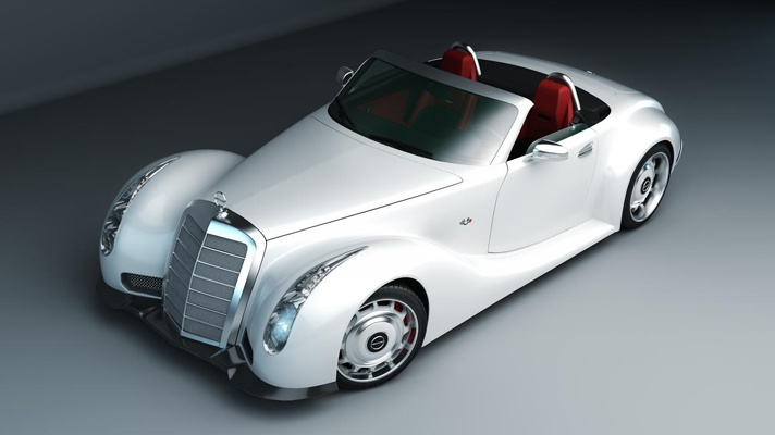 SLS AMG Roadster becomes Merc 300