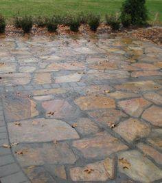 Recycled Concrete Into A Garden Path | Outdoor | Pinterest .
