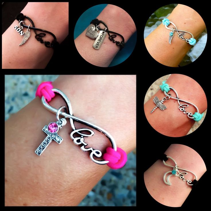 Coupon code Infin25 for 25% off all infinity love bracelets through April 11