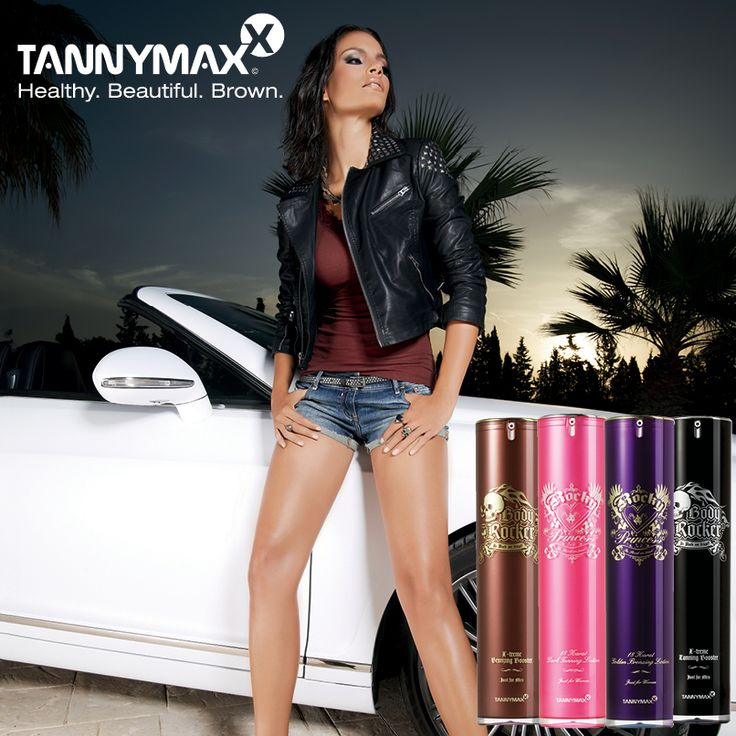 With spring just around the corner, what better way to prep yourself for bright colors, crop tops and skirts than with a dose of vitamin D!? There are rules to tanning safe and effectively and the key to a gorgeous tan is quality lotion.    Tannymaxx offers a full line of tanning products for every skin type and tan. Rocky Princess combines hemp seed oil, poppy seed extract and white willow extract, leaving your skin feeling fresh and sexy!