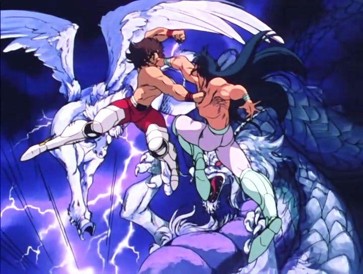 Shiryū vs Seiya -Galaxian Wars