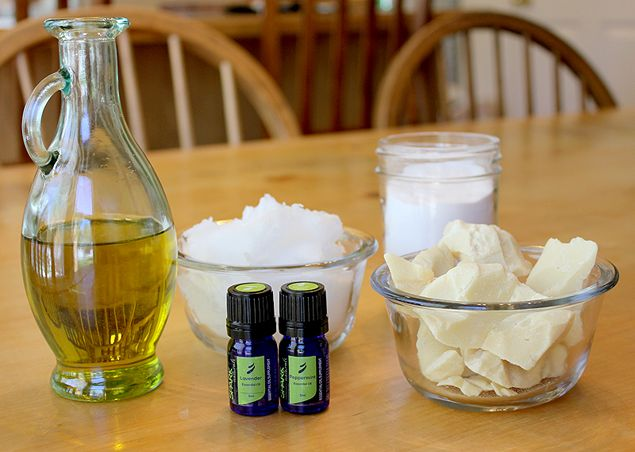 homemade shave cream - The same simple recipe you will find on every other site, well written here.