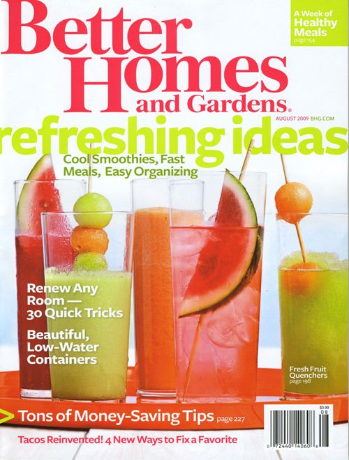 Enter To Win  1 Year Subscription Of Better Homes And Gardens Magazine