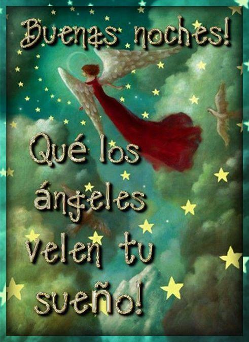 Buenas noches! Qué los ángeles velen tus sueños!