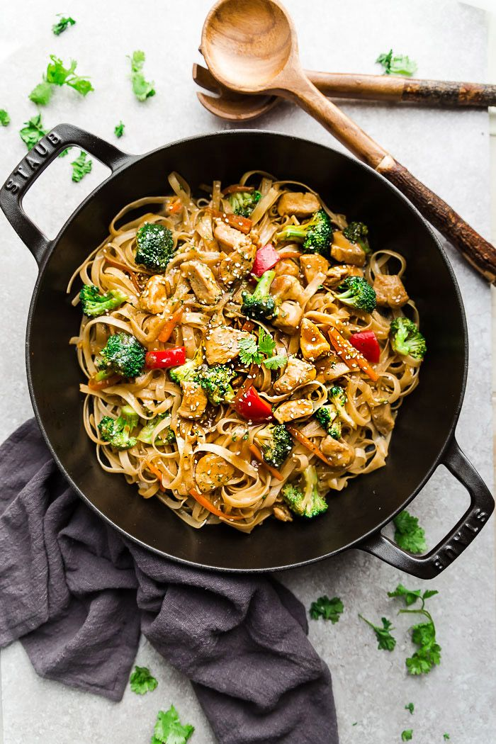 Mongolian Chicken Noodles