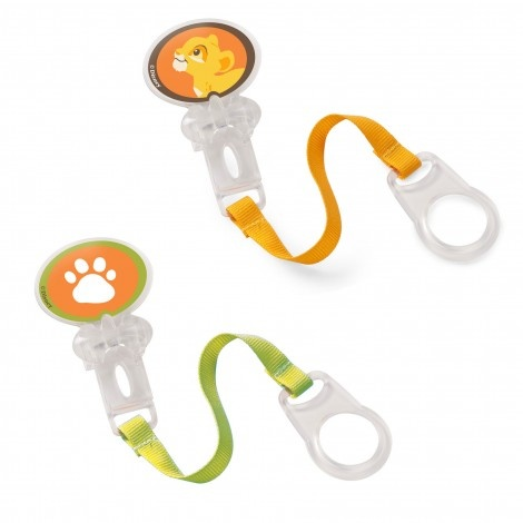 The Lion King Pacifier Holder by Born Free