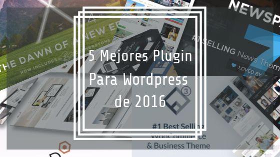 Los 5 Mejores Temas para WordPress de 2016