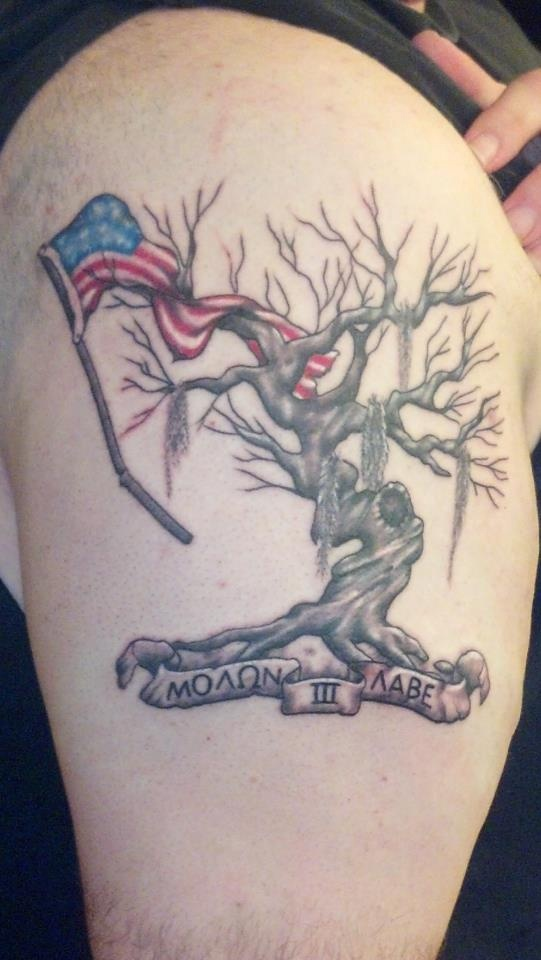 17 best images about molon labe on pinterest coins for Tattoo mole on face