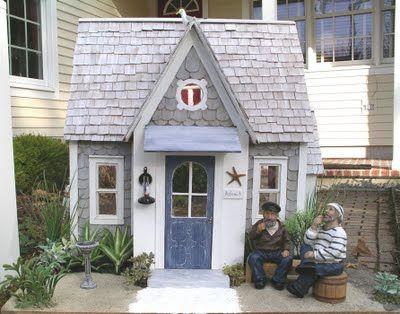 Новой Англии миниатюры блог: Амос коттедж - экстерьер