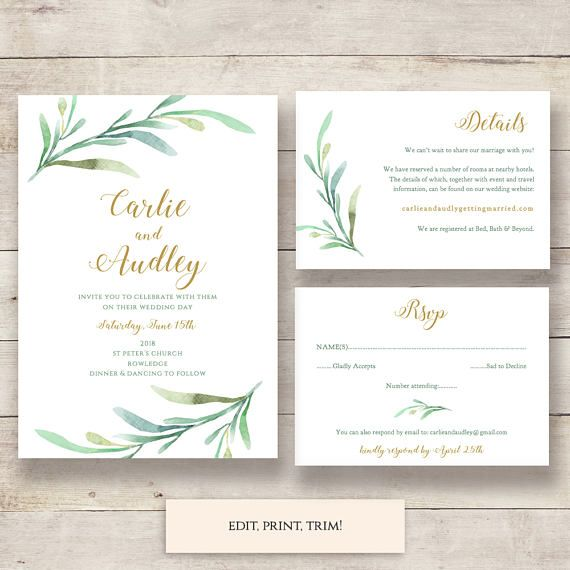 25 best Wedding programs DIY printable wedding order of service - invitation templates for microsoft word