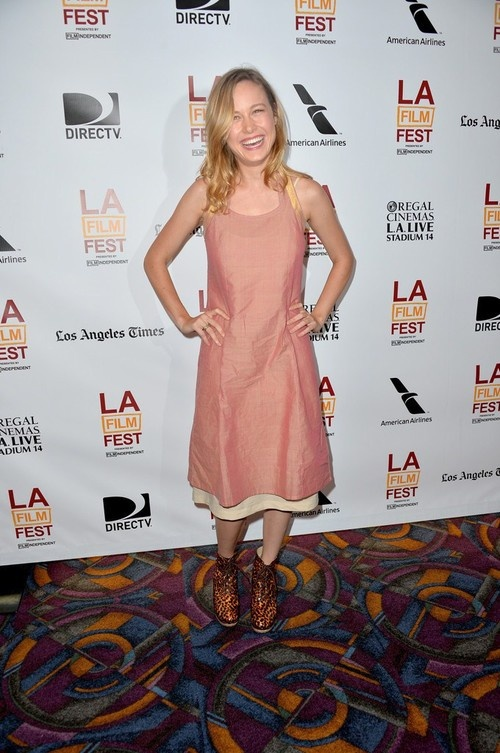 Brie Larson at Premiere of 'Short Term 12' during the 2013 Los Angeles Film Festival on June 14, 2013