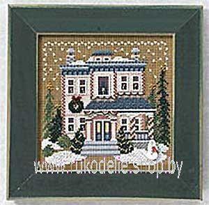 Набор для вышивания Mill Hill Викторианский дом 14-6305