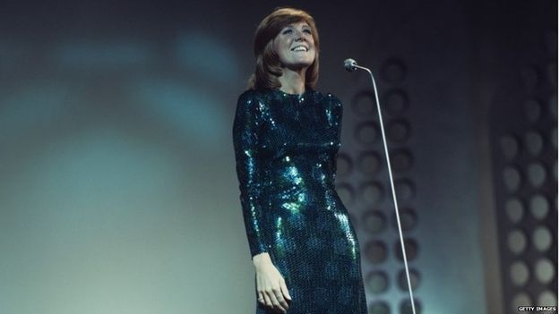 Cilla Black performing