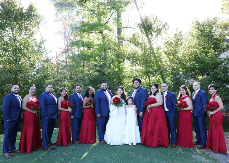 Beautiful Blue And Red Wedding Ideas Photos - Styles & Ideas 2018 ...