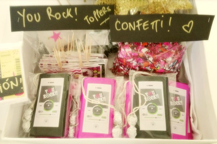Entrega Cumple Rock Star! www.tiendadoilies.com.ar