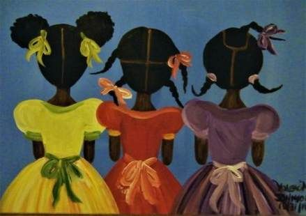 60 super ideas for black art painting love african americans pictures #pai… in 2019 | Black art painting, African art paintings, Black art