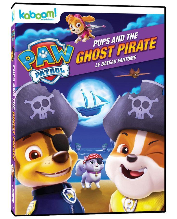 Pat'Patrouille -  Le bateau fantôme - Durée : 88 minutes -  Langue : Français / Anglais -  Référence : 14476  #Dvd #Cadeau #Film #Enfant