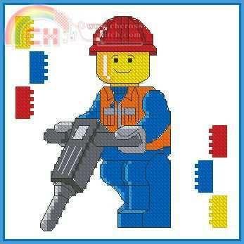 lego cross stitch patterns | Cross Stitch,cross-stitch,Cross stitch patterns download,Needlework ...