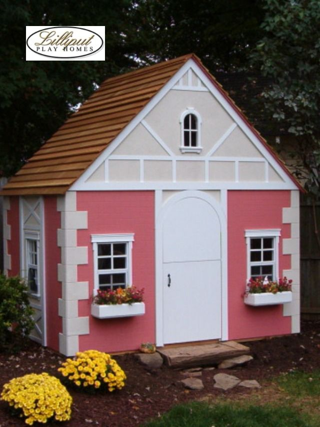 Lilliput S Tattle Tale Play House In 2020 Play Houses Luxury Playhouses Kids Playhouse