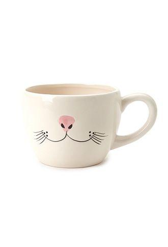 Whisker Graphic Mug | FOREVER21 - 1000100567