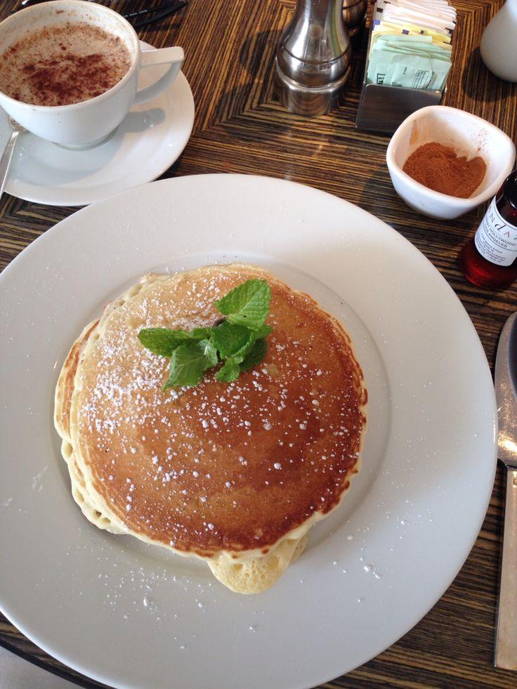 Organic butter milk pancakes