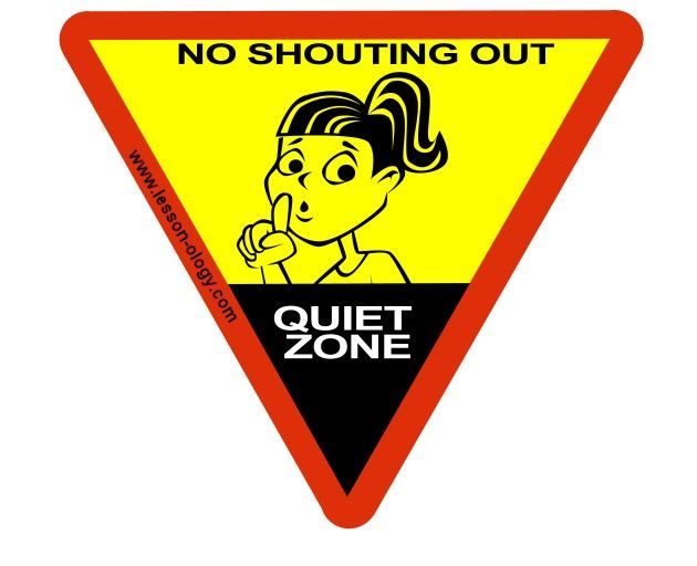 Quiet Please Testing Sign 12 best images about c...
