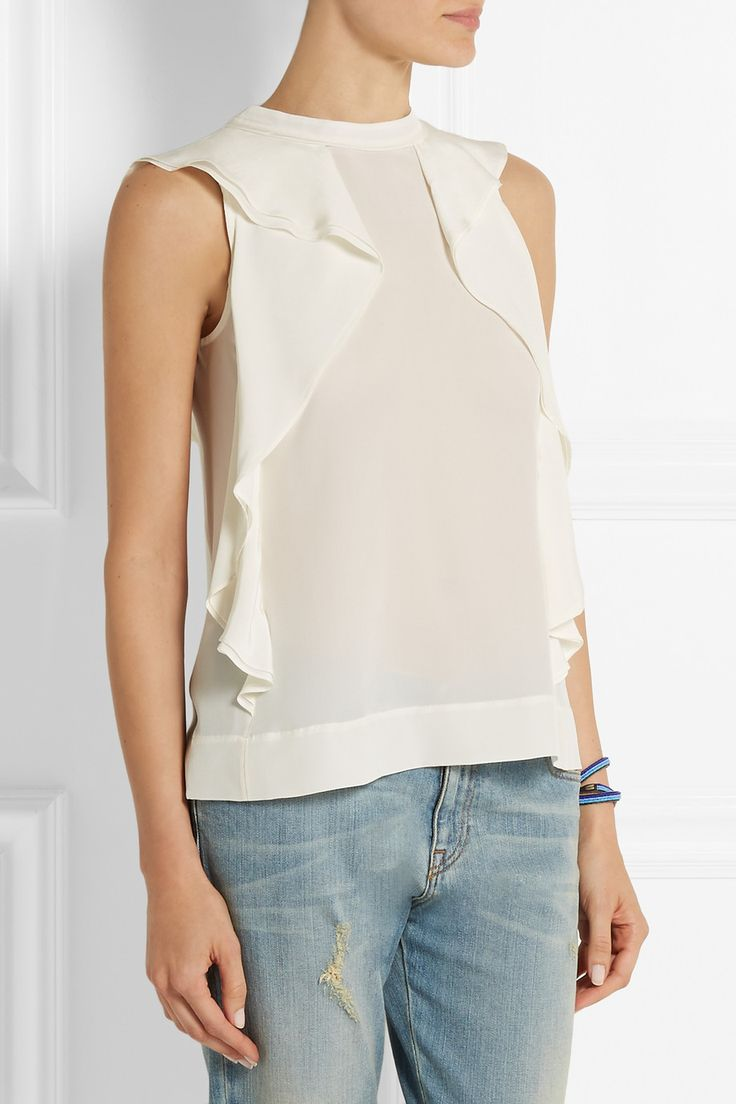 Really Cheap Online fringe blouse - Nude & Neutrals Marc Jacobs Cheap Online Store Manchester qkXh4bPl