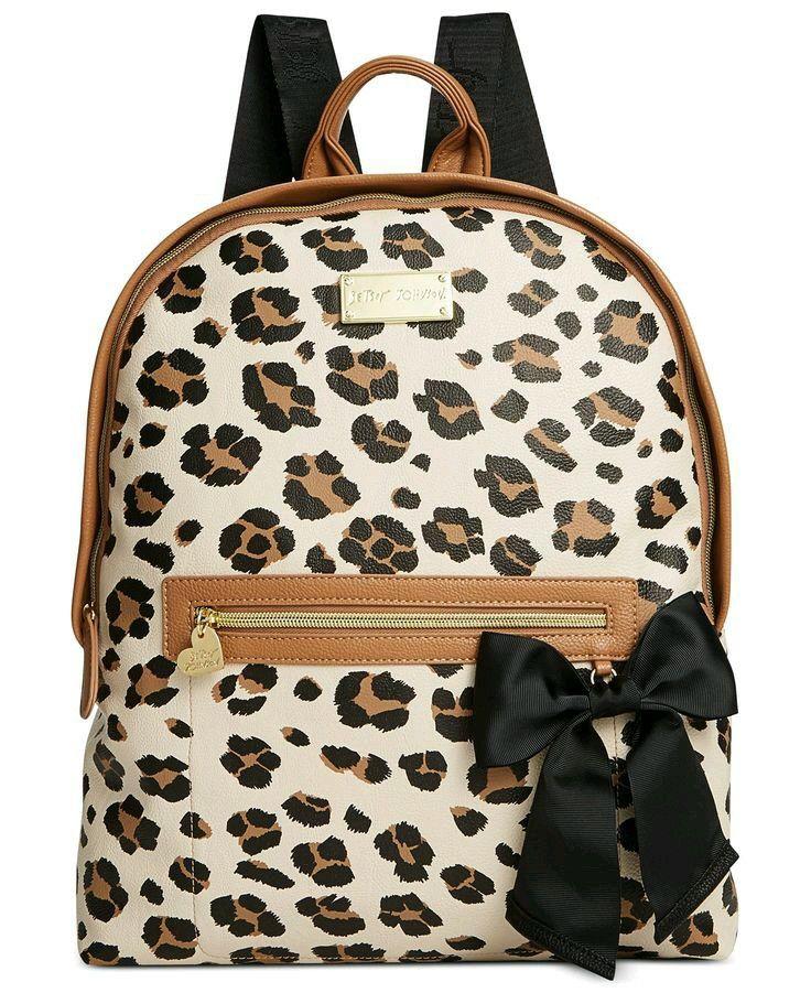 Leopard backpck