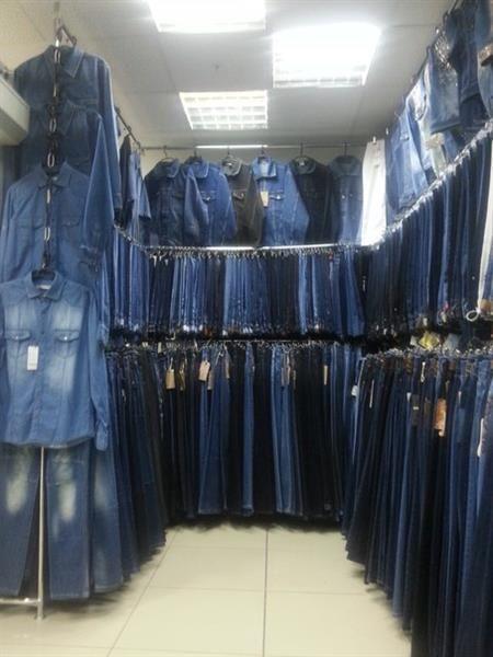 Мужские и женские джинсы и юбки больших размеров джинса