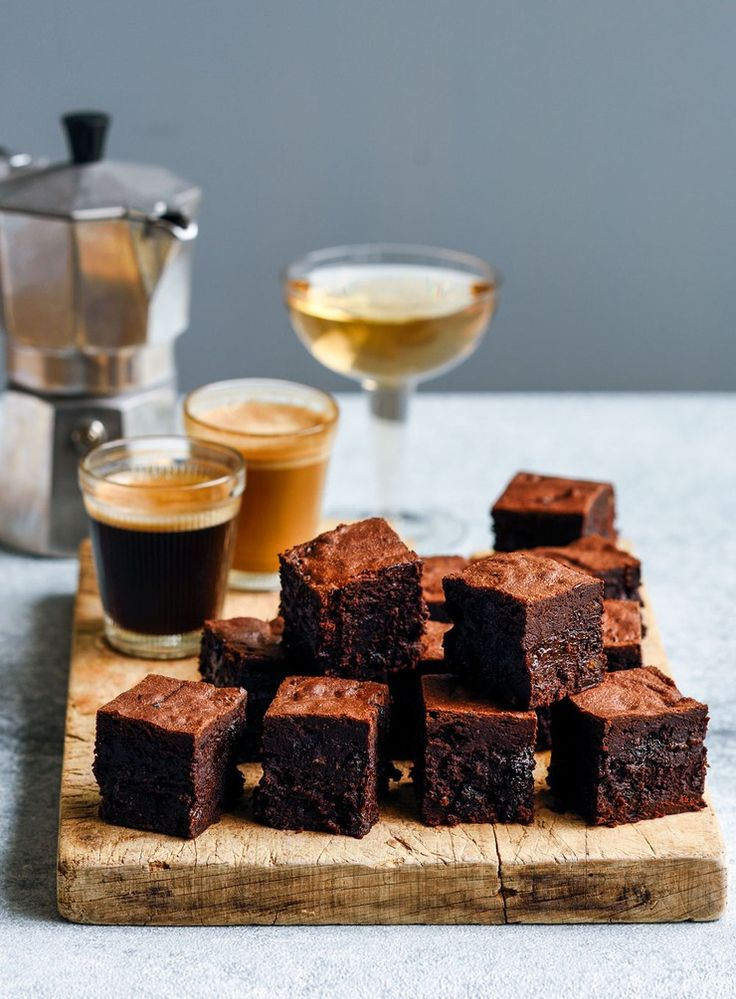 I love watching people's faces as they bite into these brownies – the smile as they realise the dark chocolate is rich and moist with fruit mince, a new Christmas classic.