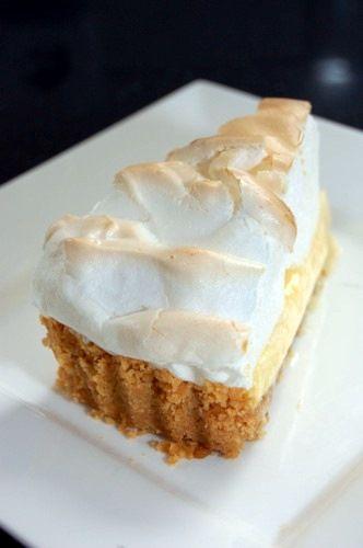 Limoen taartMeringue Pie