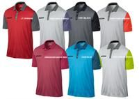 Nike Golf | Mens Golf Shirts | Innovation Color Polo Nike Golf Innovation Color Polo.  2-button placket pocket polo.  Self-fabric collar. Open sleeve.  Color blocked sleeve and collar.