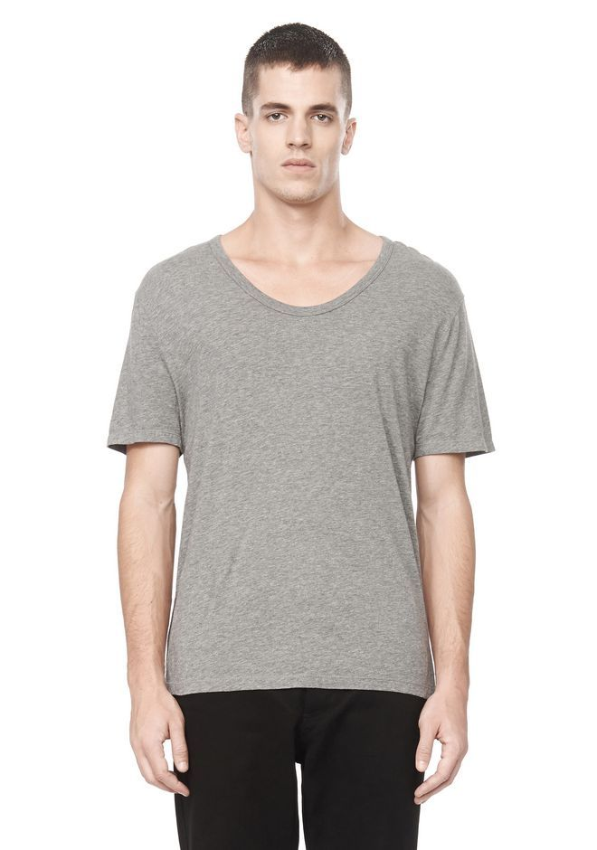 Grey t-shirt - Another wardrobe basic. This version is so comfortable and the cut is perfect. Note - slightly longer sleeves add that touch of swagger.