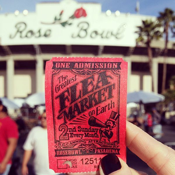 Rose Bowl Flea Market Friends, if it's the second Sunday of the month, we regret to inform you that we cannot attend your baby shower or birthday brunch — we have a standing reservation at the Rose Bowl Flea Market. With more than 2,500 vendors to choose from, we always find a tchotchke (or twelve) worth taking home.Rose Bowl Stadium, 1001 Rose Bowl Drive (at Seco Street); 626-577-3100.