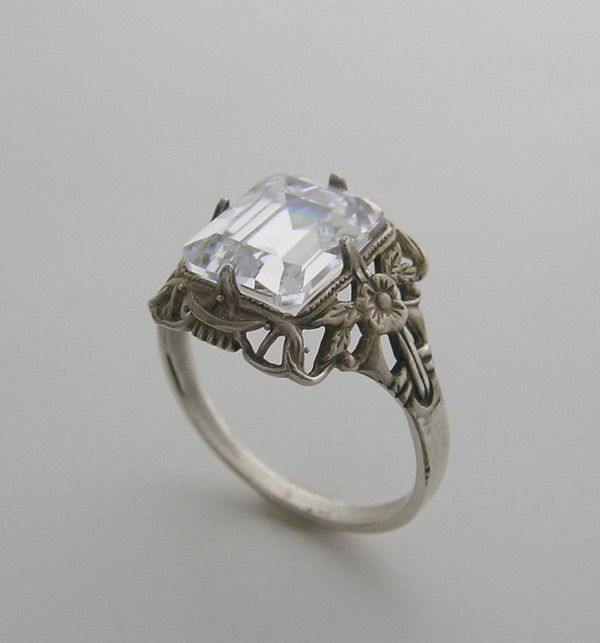 18 best images about wedding ring settings on Pinterest