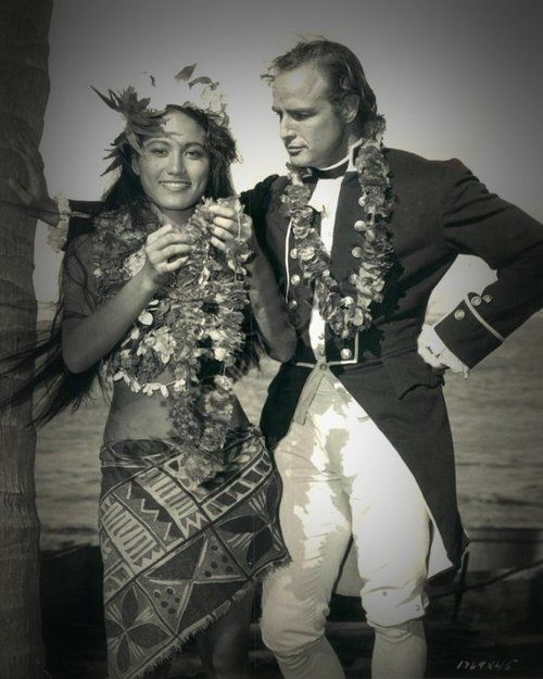 while shooting Mutiny on the Bounty he met and married Tahitian beauty Tarita Teriipia, who by coincidence had played his love interest in the film. Tarita was some 18 years younger than Brando, and she was only 20 when she and Marlon Brando were married. Tarita was Brando's third wife, and gave birth to two children, Simon and Cheyenne.