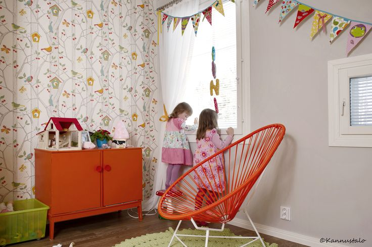 Lastenhuone ©Kannustalo, kuvaaja Eveliina Mustonen