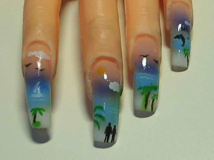 Best 25 airbrush nail art ideas on pinterest 3d nails art airbrush nail designs perfecting your look cute airbrush nails art hipsterwall frauenfrisur prinsesfo Images