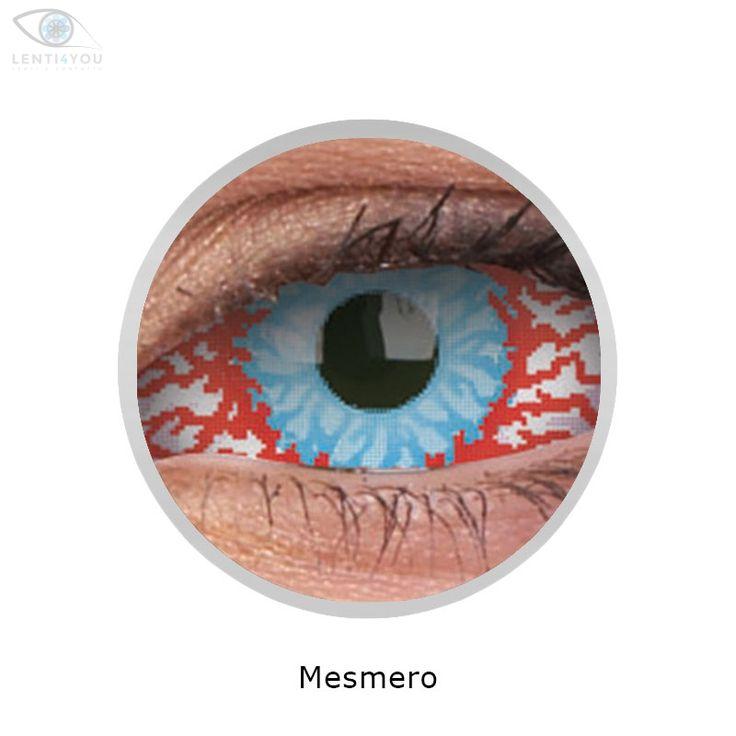 Lenti a contatto colorate SCLERA MESMERO 22mm COSPLAY tutto l'occhio | Lenti4YOU