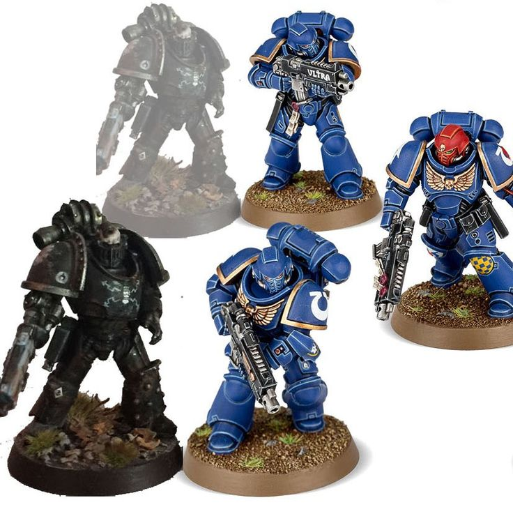 + Theoretical +   + Vaguely apologetic babble +   + Games Workshop are releasing a new range of Space Marines – the Primaris Marines – ne...