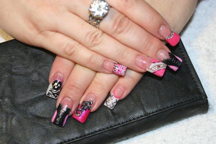 24 Best Harleys Nails Images On Pinterest Harley Davidson Nail