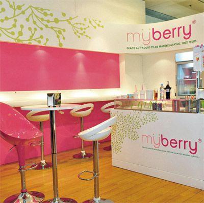 Fun Interior Designs And Branding Of Yogurt Shops Commercial Design News