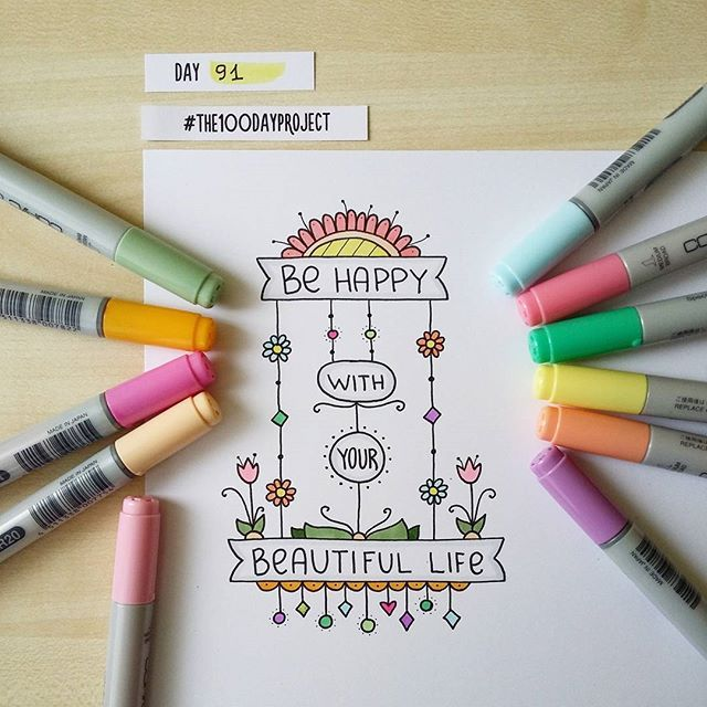 #100daysofdooodles2 #100dayproject #100daysproject #doodle #drawing #draweveryday #markers #inspiration #instaart #art #рисунок #маркеры #творчество #вдохновение