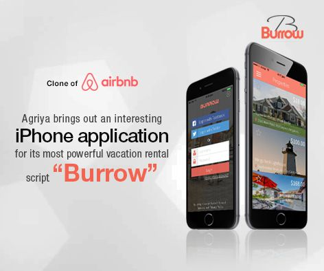 Agriya launches the most awaited native iPhone application for its vacation rental script-Burrow. This application is crafted with many advanced features and tools to run the vacation rental business efficiently. To know more: http://customers.agriya.com/products/burrow/mobileapps/burrow-iphone-application.html