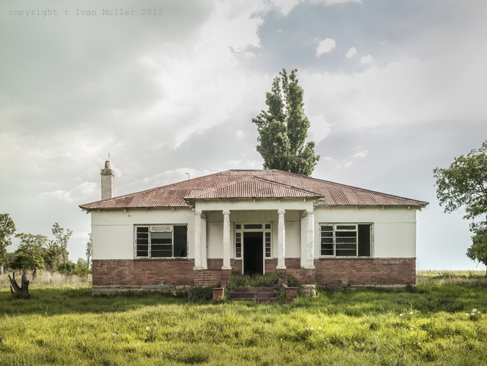 Abandoned farmhouse near Standerton, South Africa. www.ivanmuller.co.za