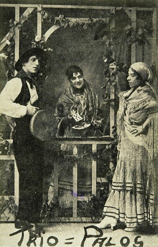 Fortune Tellers - vintage photo