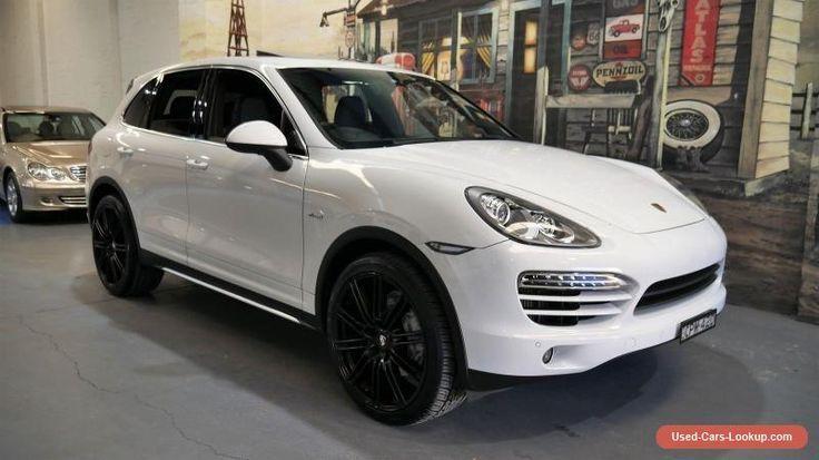 Cool Porsche: 2012 Porsche Cayenne 92A MY13 Diesel Tiptronic White Automatic 8sp A Wagon #pors...  Cars for Sale Check more at http://24car.top/2017/2017/07/18/porsche-2012-porsche-cayenne-92a-my13-diesel-tiptronic-white-automatic-8sp-a-wagon-pors-cars-for-sale/