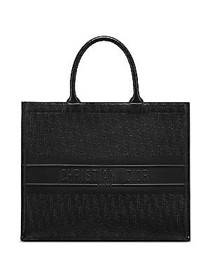 Dior Oblique Embossed Leather Dior Book Tote  4c09104b43be5