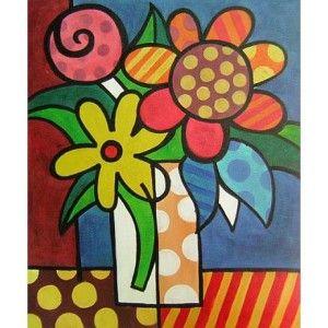 Obraz - Krásné květy v láhvi http://hledatnabytek.cz/6725